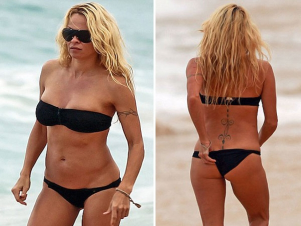 Fotos de pamela anderson en bikini