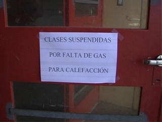 ESCUELA EVA DUARTE sin gas