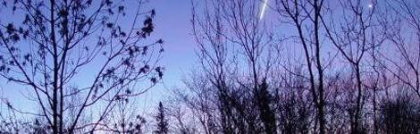 Esta noche habrá lluvia de estrellas con los restos del famoso cometa Halley