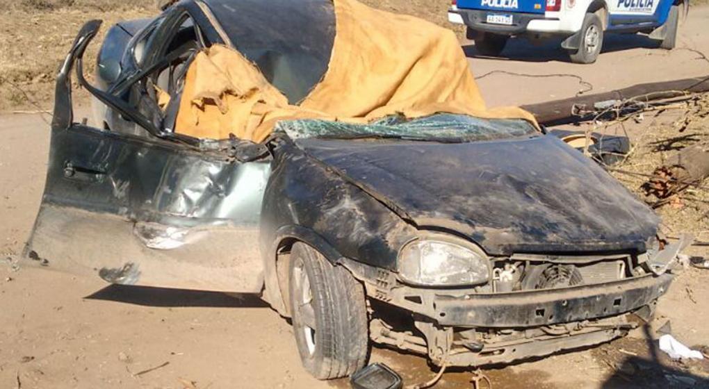 Madre e hija murieron calcinadas en un accidente