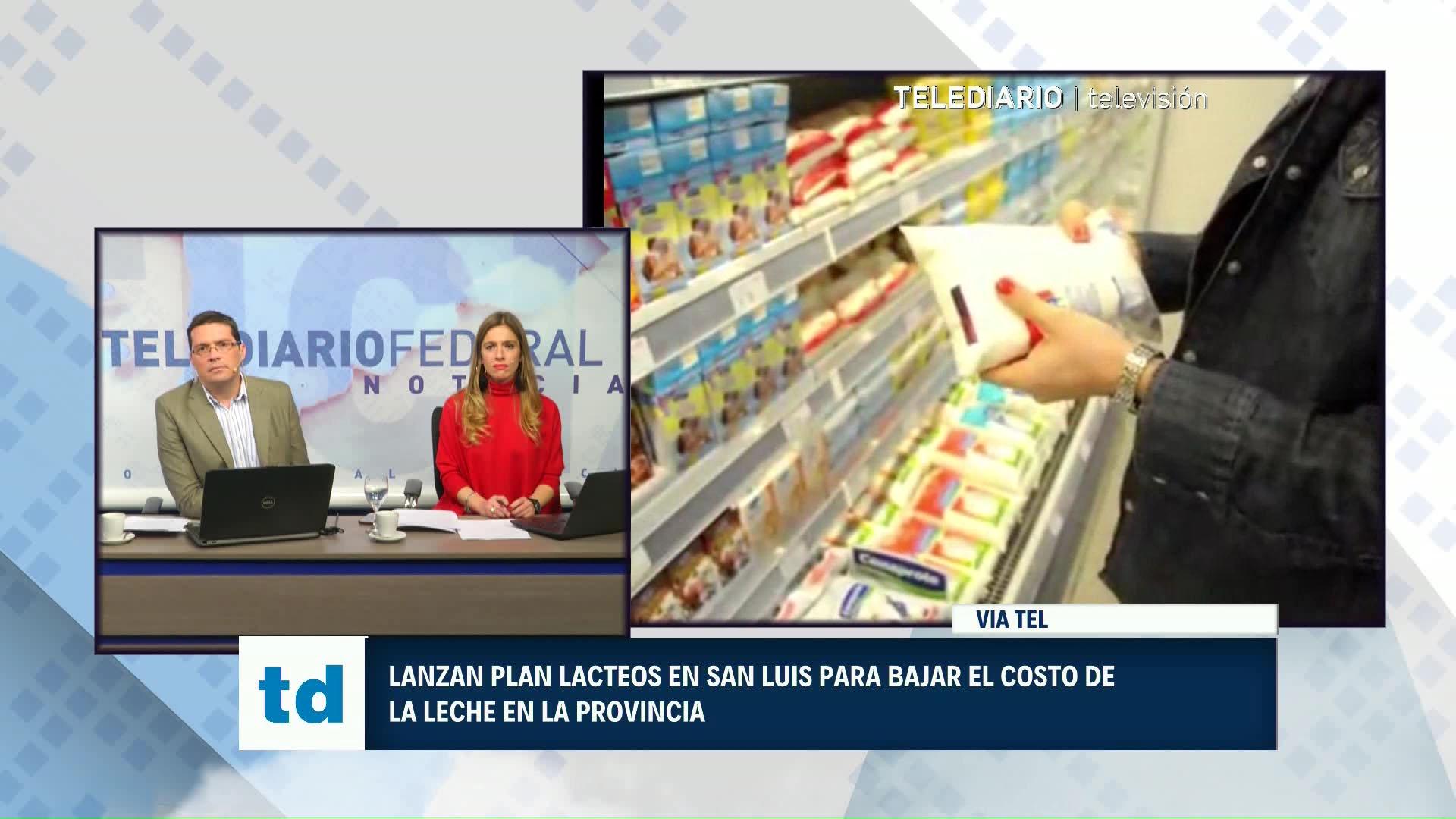 Rodríguez Saá venderá el litro de leche a $15,50