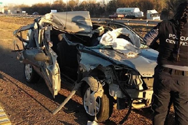 Un hombre murió en un accidente en Ruta 7 — San Martín