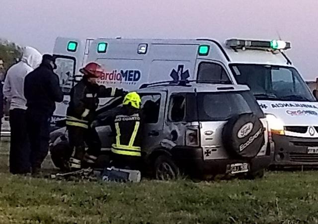 Un menor falleció en un accidente sobre la Ruta A005