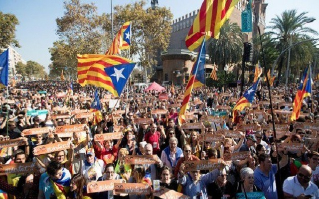 El Senado español aprobó la intervención de Cataluña