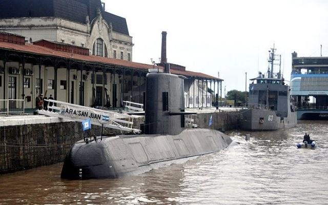 Armada argentina admite gravedad por submarino