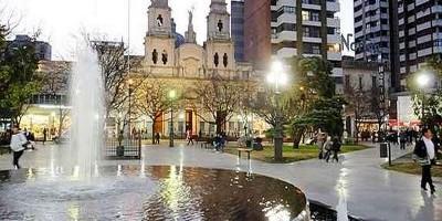 Image result for tormenta sobre rio cuarto, sobre plaza mojica o central