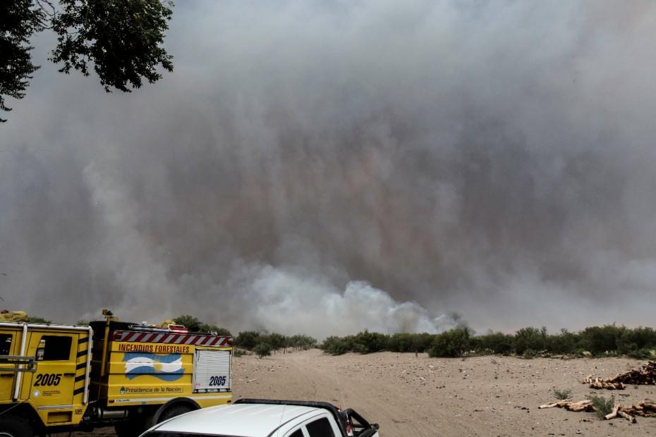Resultado de imagen para incendios en gral alvear mendoza 2018