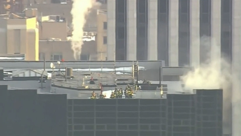 EEUU: Incendio en la Trump Tower de Nueva York