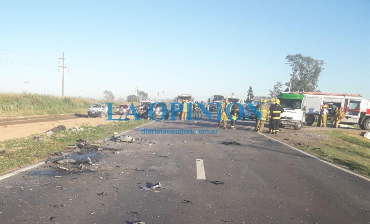 Cuatro muertos tras un choque múltiple en Ruta 34 — Sunchales