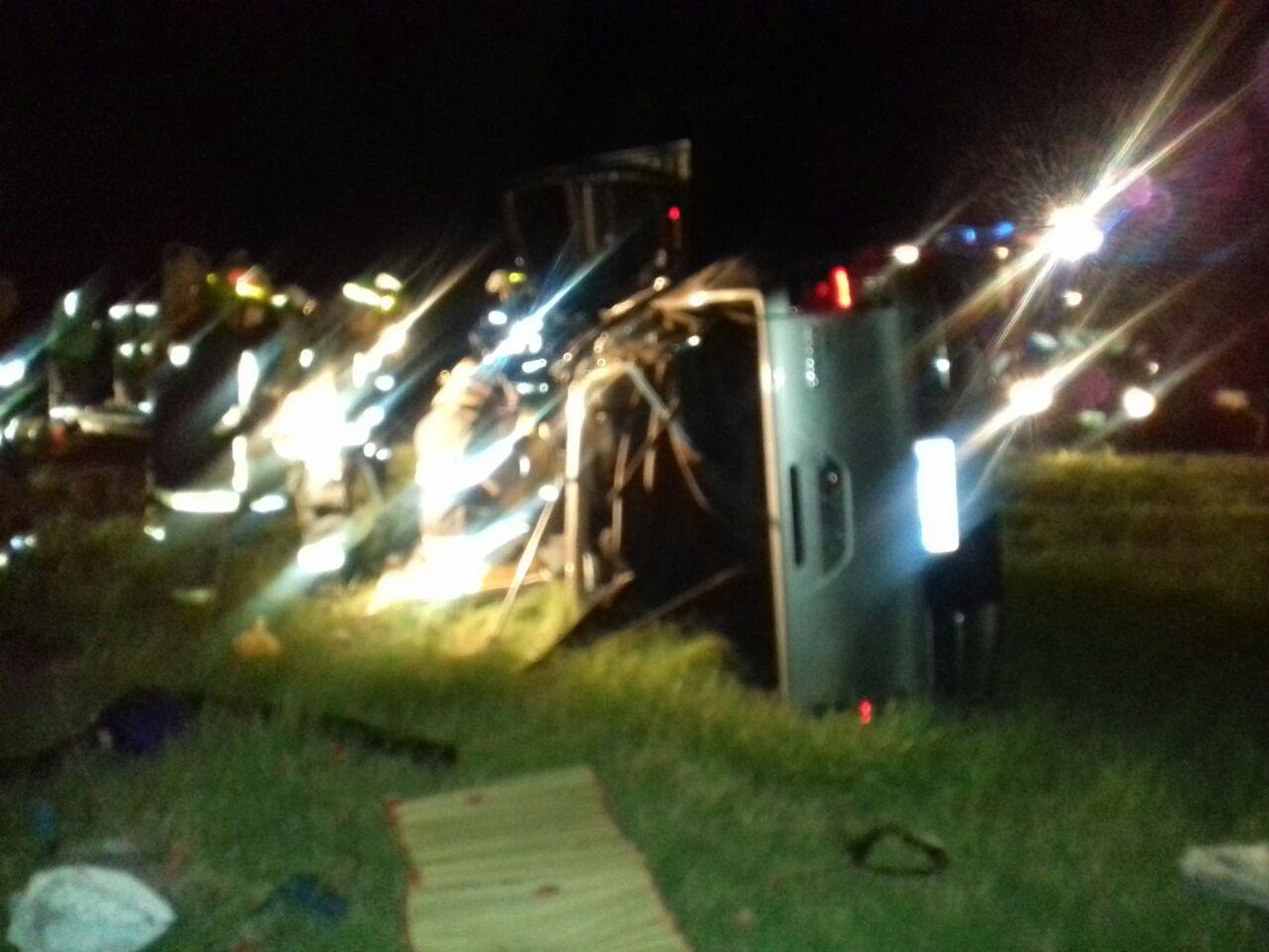Camionero sanjuanino involucrado en un grave accidente en Córdoba