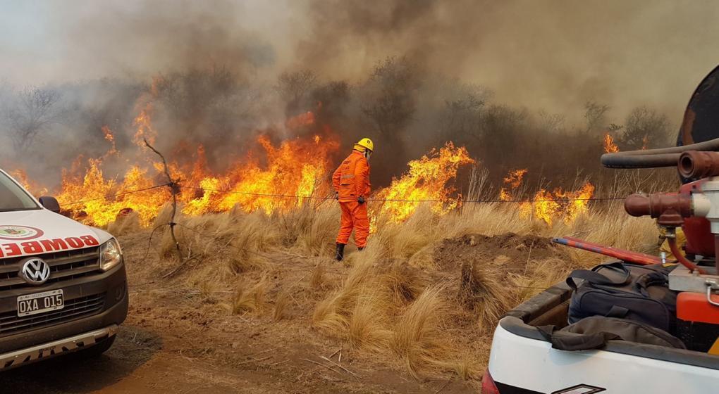 Un asado quemó mil hectáreas