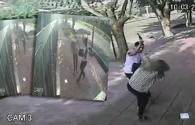 Salvaje agresión a una mujer para robarle la cartera