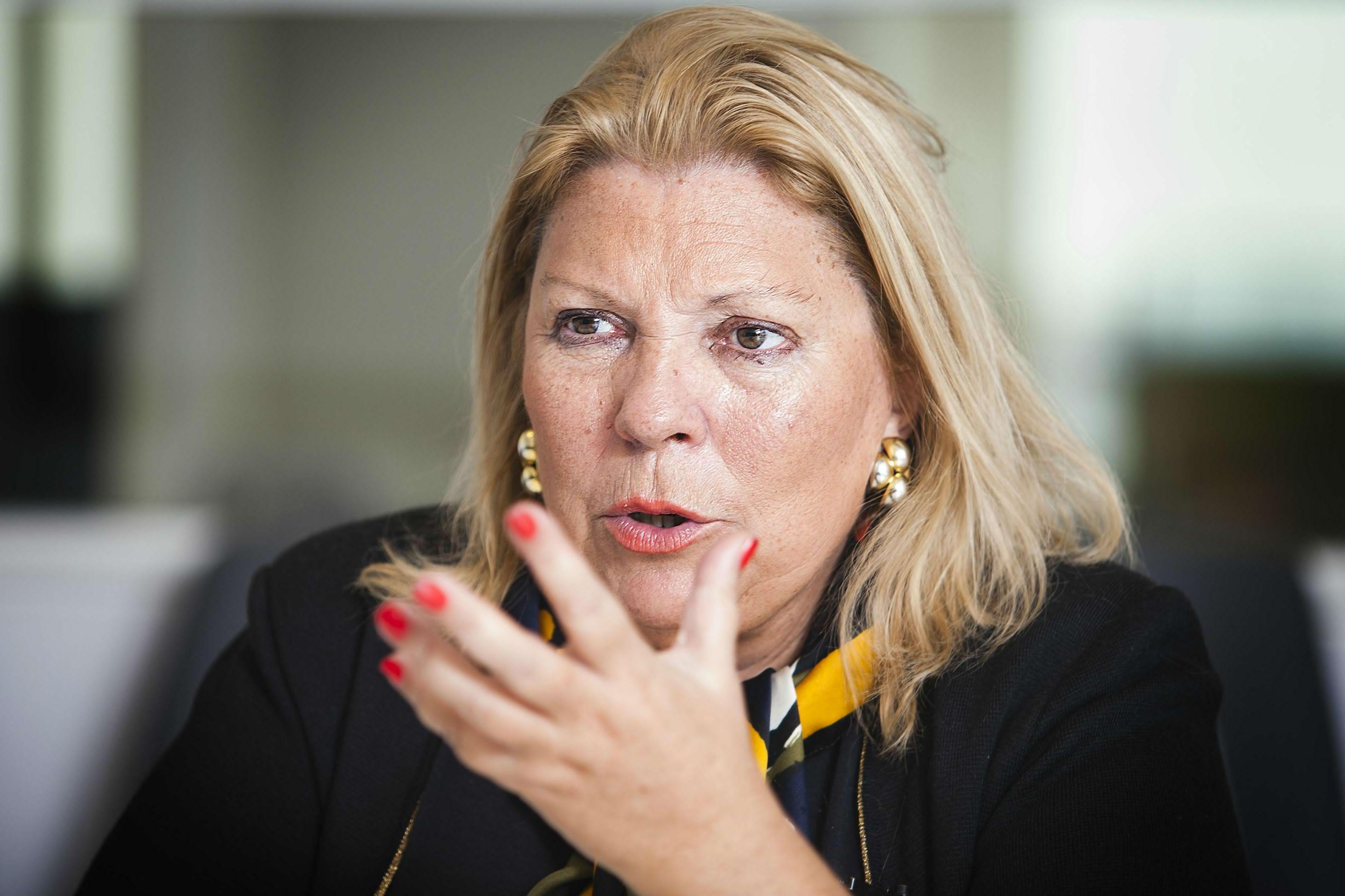 Carrió pidió por la reelección de Macri