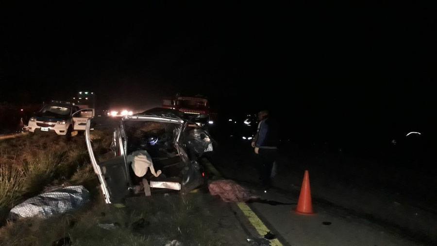 Seis muertos por un choque fatal en una ruta de Entre Ríos