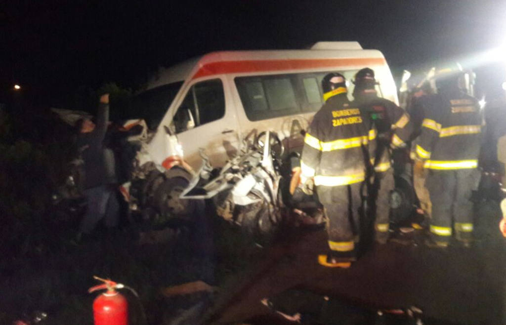 Un terrible accidente se cobró tres jóvenes vidas en Santa Fe