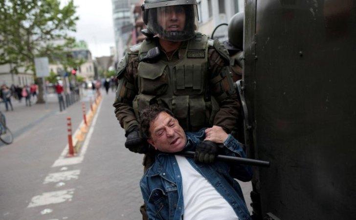 """Resultado de imagen para represion en chile"""""""