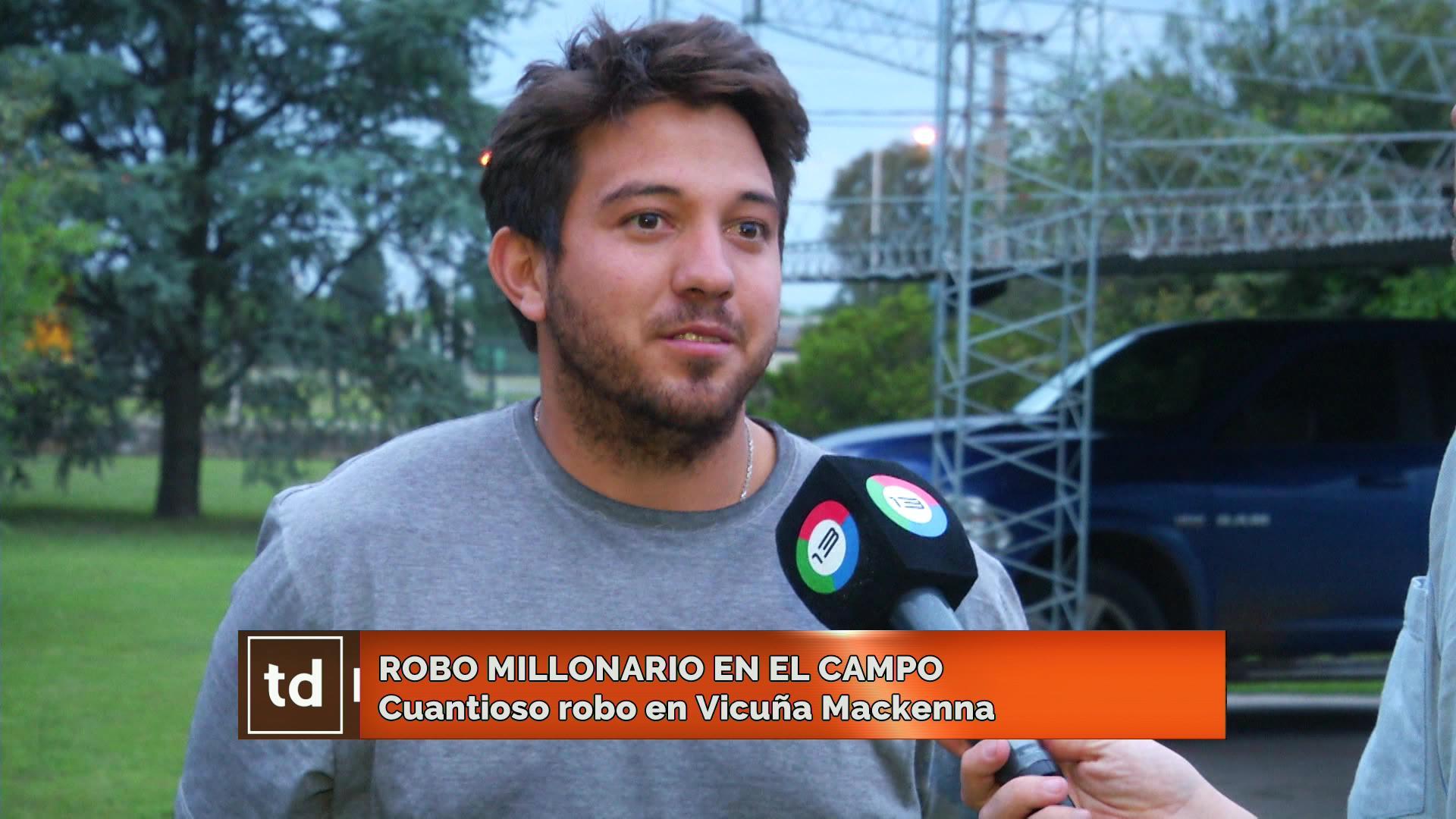 Millonario robo en un campo de Vicuña Mackenna: «Ingresaron dos veces en un mes y medio - Telediario Digital